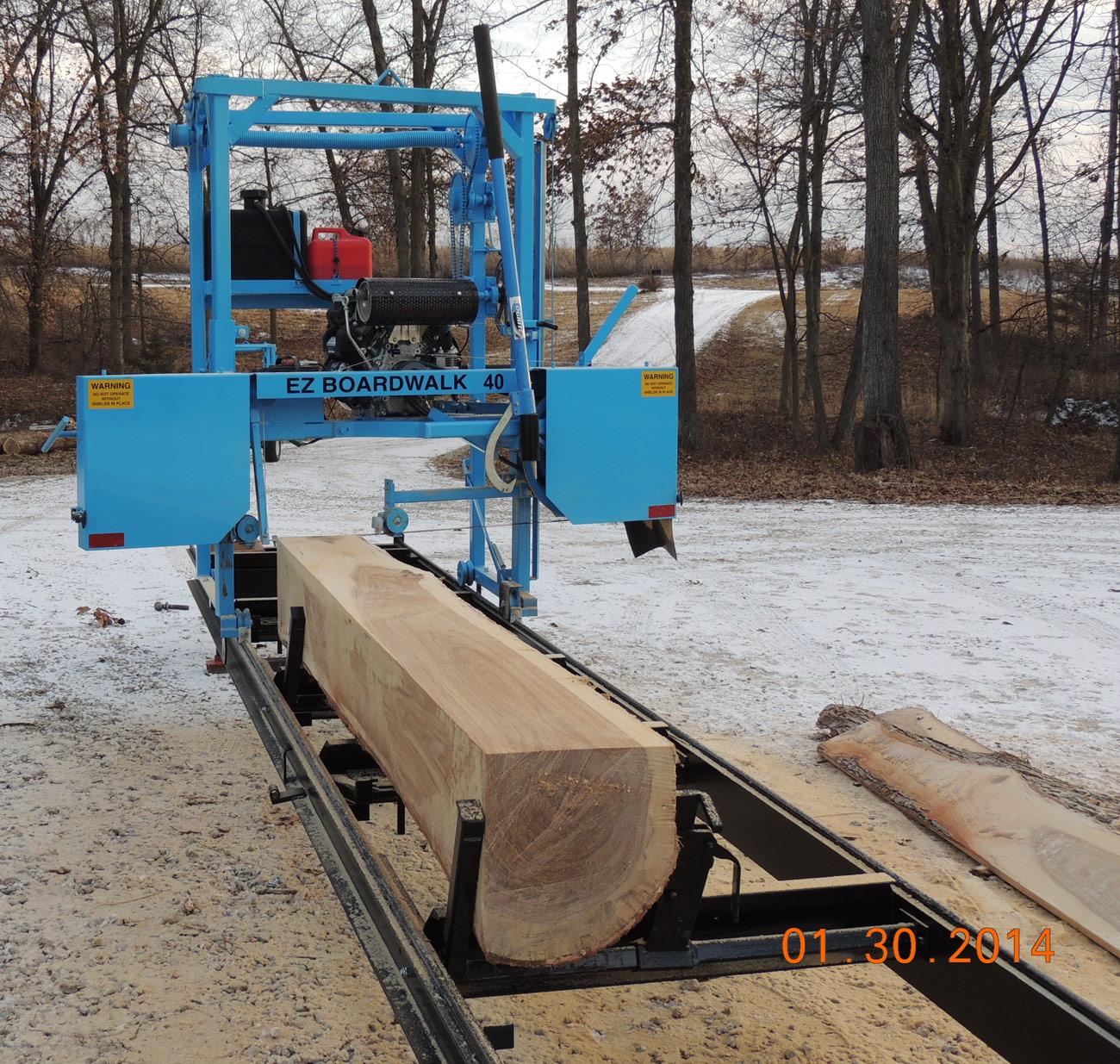 EZ Boardwalk Sawmill