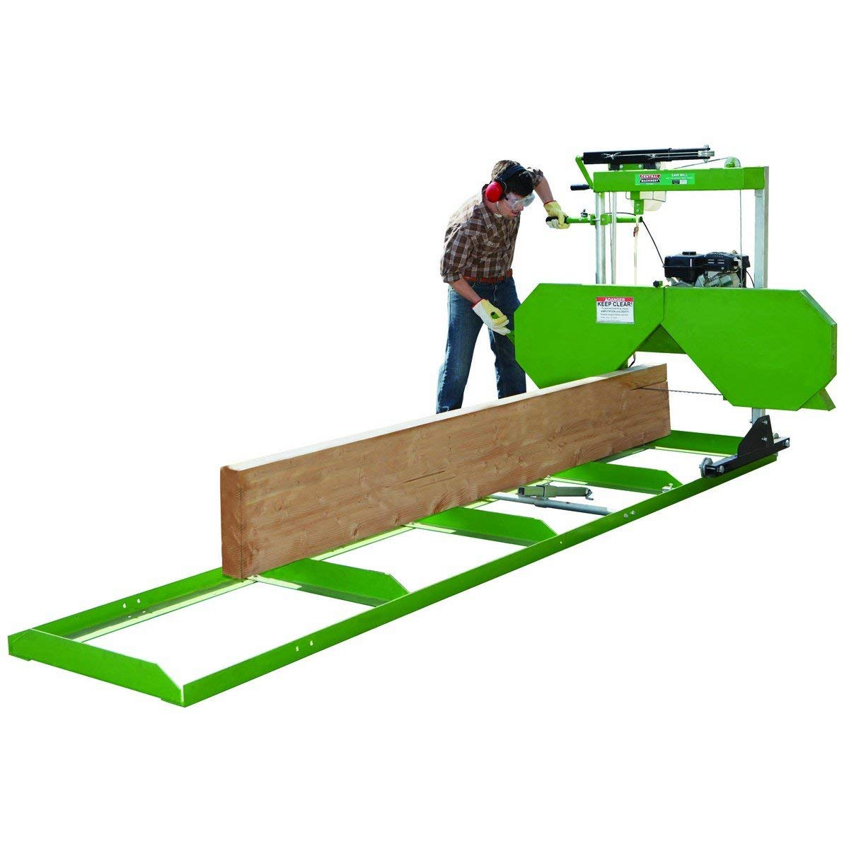 7 HP Portable Saw Mill