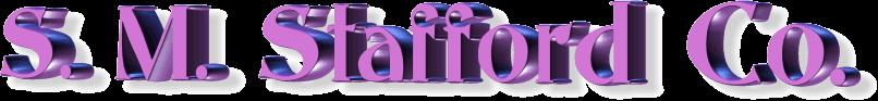 s.m.stafford logo